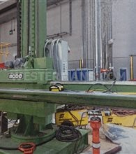 Bode column and boom ex-Rolls-Royce with ESAB pek subarc system