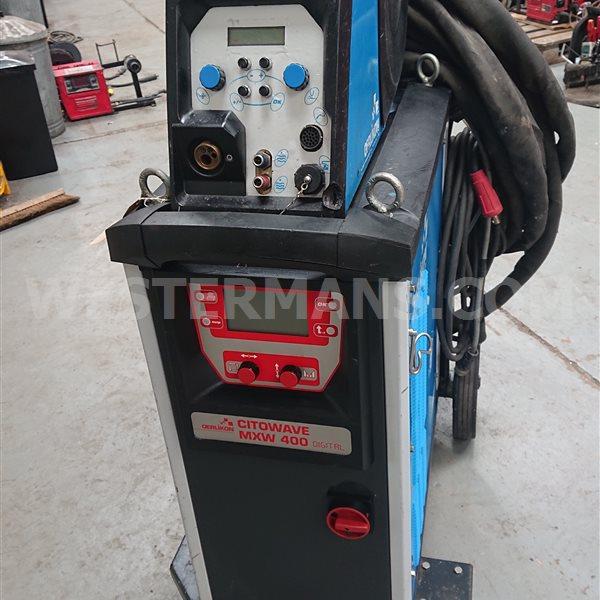 Oerlikon Citowave mxw 400 pulsed water cooled MIG welding machine