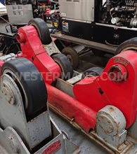 Bode SAR 10 ton Self Aligning Welding Rotators, 1 Powered and 1 Idler