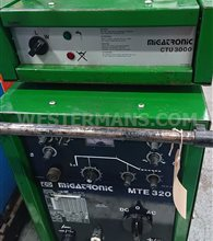 Migatronic MTE 320 AC DC Squarewave TIG Welder