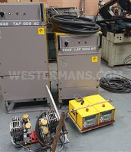 ESAB A6 SAW Seam welding tractor, Twin Head LAF 1000, TAF 800 + PEH