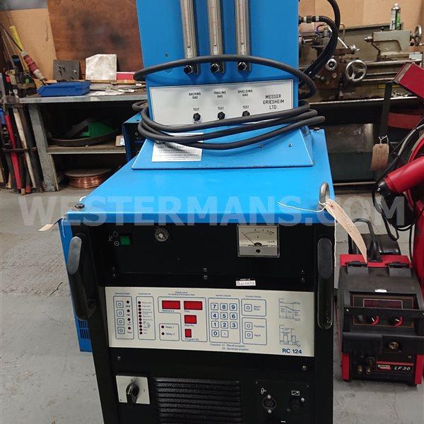 Messer Inverter 400 dc -p tig/plasma welding machine, water cooled