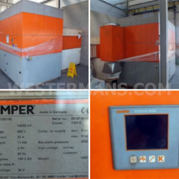 Kemper 9000 Fume extraction system