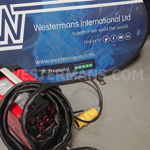 Lincoln Invertec V160 tig welder single phase DC