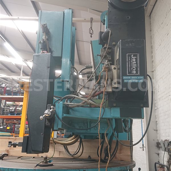 Bode VP 2000kg Positioner with Bode 2 x 2m Column and Boom