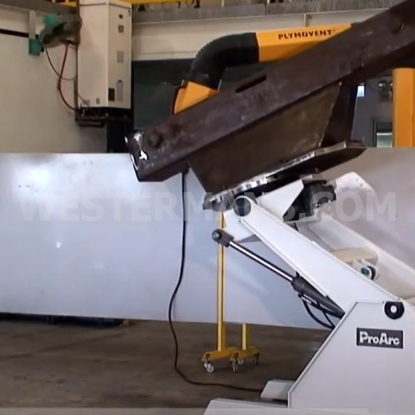 Proarc PT-1000H and 2000H 3 Axis Hydraulic Positioner