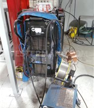 Miller XMT 350 MPa MIG Welder, Water Cooled with Wire Feed