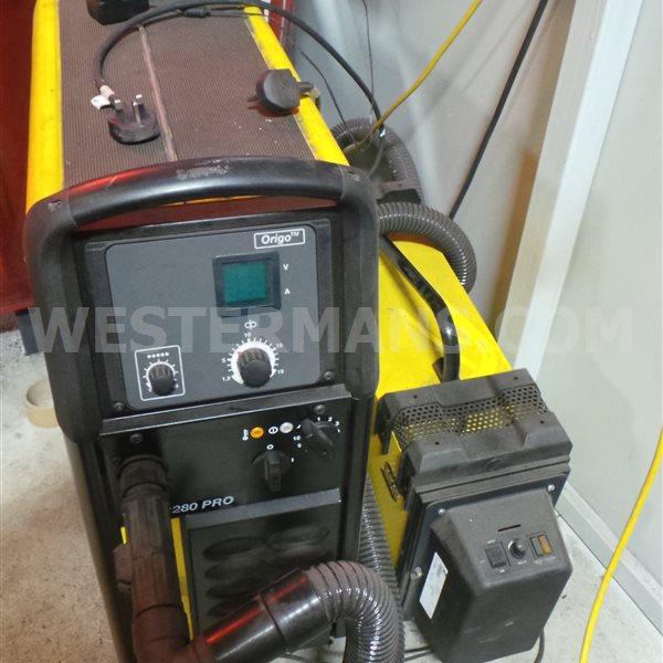 ESAB Origo Pro 280 MIG with Fume Extraction