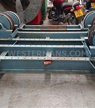 Macobe 20 ton welding rotator with extra idler