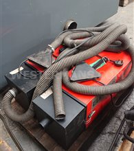 Electac MT8 x 2 Welding Fume Extractions units single phase 220 volts with hose and hood