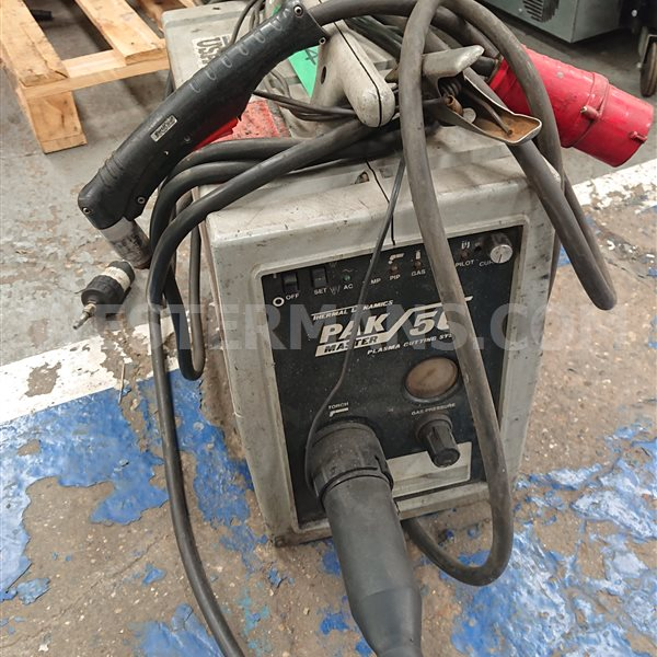 Thermal Pak master 50 plasma cutter with hand torch
