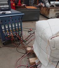 Globe Pre Heat Treament Unit with pads PWHT
