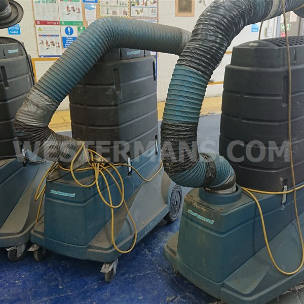 Nederman Filtercart New Style and old Welding Fume Extraction System