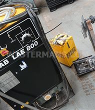 ESAB LAE 800 welder with Soudometal Cladding head