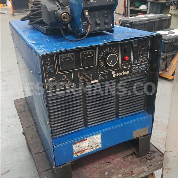 Miller DeltaWeld 651 MIG Welding Machine, heavy duty