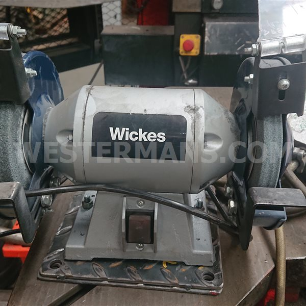 Wicks bench grinder