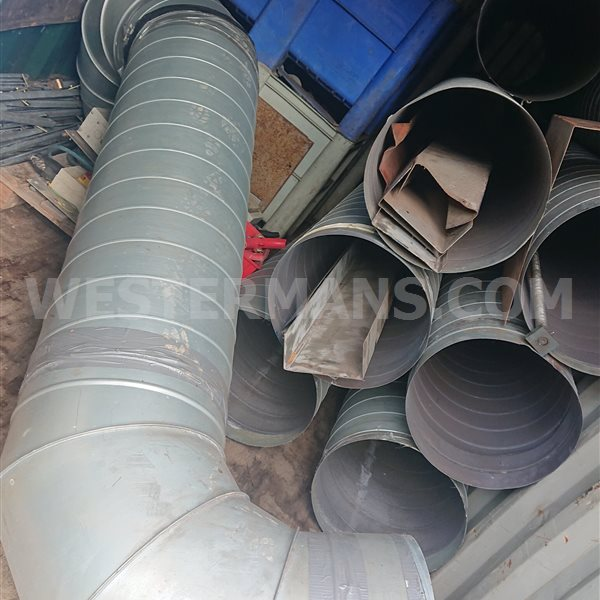 Steel ducting 300 mm 4m lengths