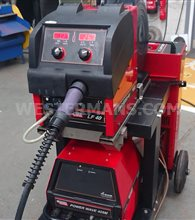 Lincoln Powerwave 405 MIG welder with LF Feed 40