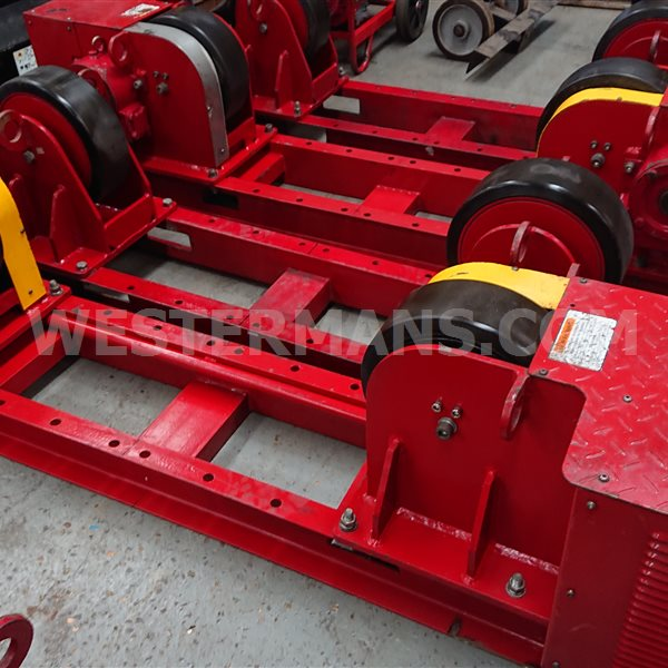 Welding Rotators Model PR 10 Ton Load Capacity Dual Drive