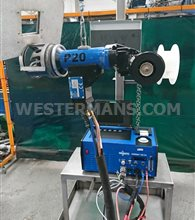 Orbimatic 165 CA Orbital Welder with unused P20 Tube to Sheet Plate Weld Head with Wire Feed