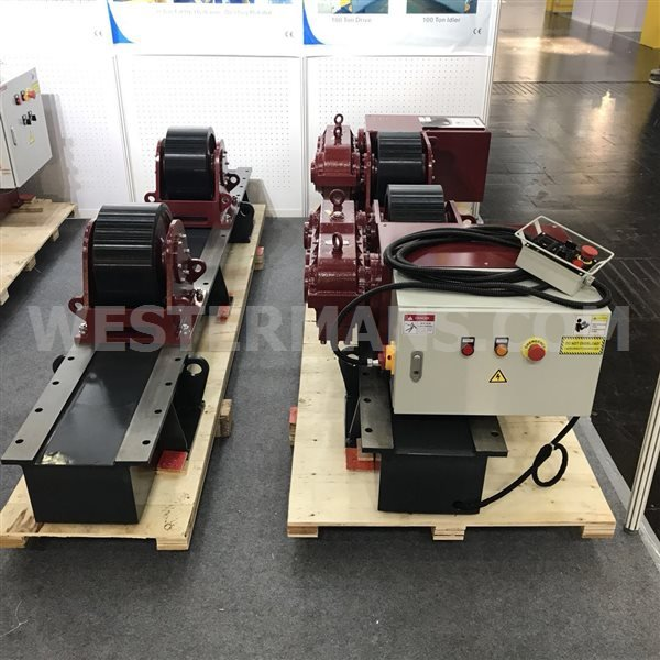 New West 20,000kg Welding Rotators