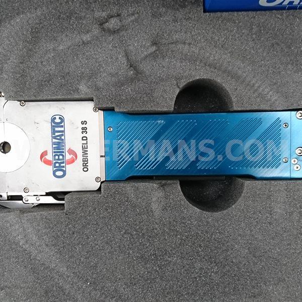 Orbimatic ORBIWELD Orbitalum 250C with 38s weld head