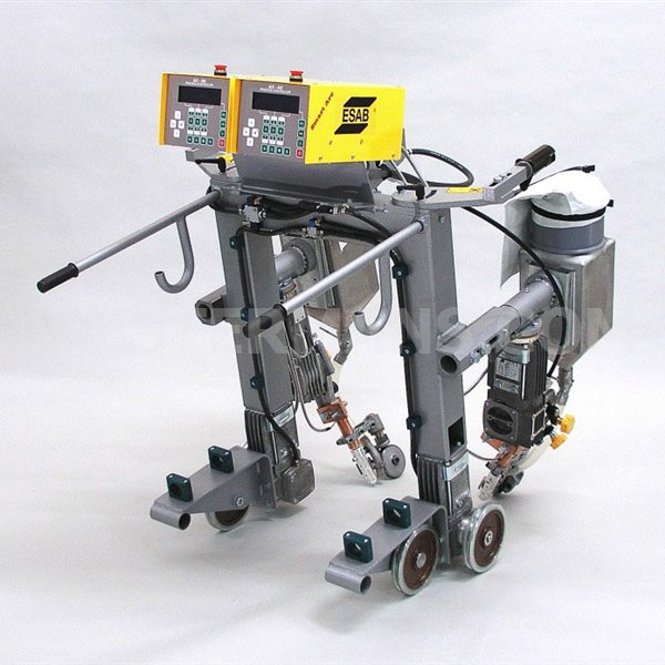 ESAB DK Portal Sub Arc system with LAF 1000 power source beam welder