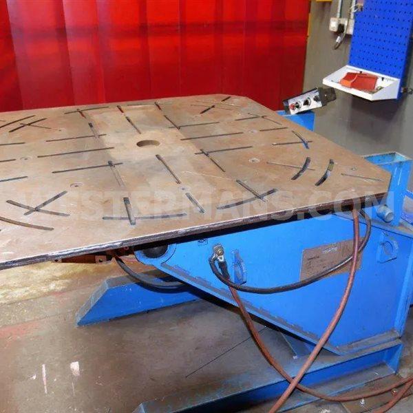 Air Liquide SAF Lincoln 1600kg Welding Positioner