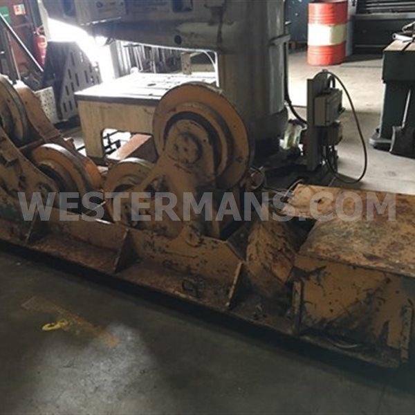 Bode SAR 300 15 Ton Welding Rotators, Self Aligning with Slim Steel Wheels