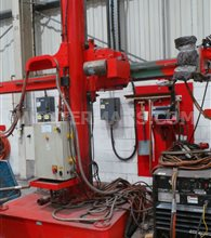 Bode Column and Boom Subarc welder with Lincoln pipe head