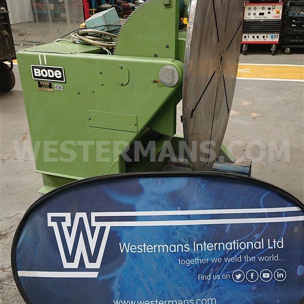 Bode 500kg welding positioner