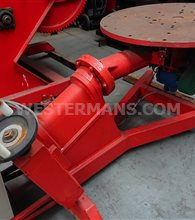 Bode 2000 kg Rotilting welding positioner with manual tilt and variable speed control