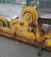 Bode SAR 300 15 Ton Welding Rotators, Self Aligning with Slim Steel Wheels