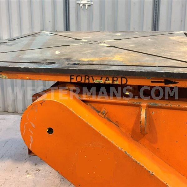 Bode VP100 5 Ton Welding Positioner. Bespoke refurb on request