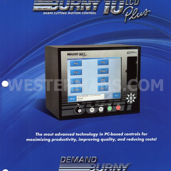 Burny Etek 10 LCD Screen