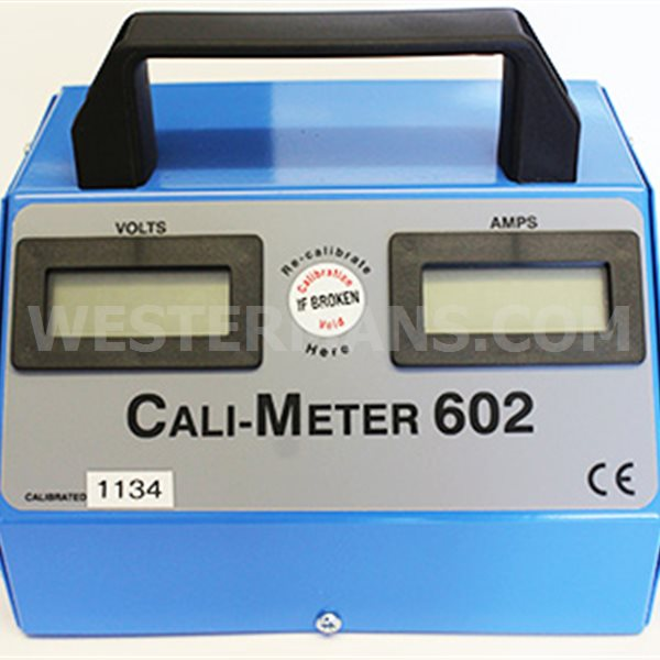 Calibrator 600/1000 amps AC/DC for validation of welders