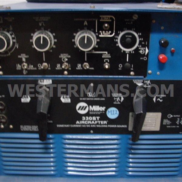 Miller Aircrafter 330 ST Heavy Duty TIG Welder AC/DC