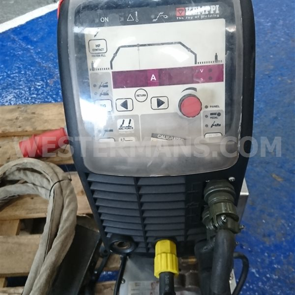 Kemppi Mastertig MLS DC 3500 TIG Welder Water Cooled Package, Also Suitable for Generator Use