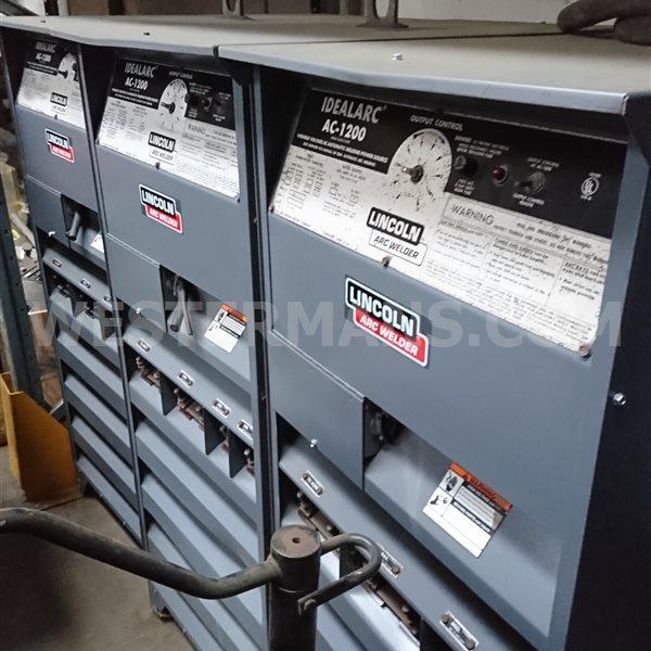 Lincoln AC 1200 amp Submerged Arc welder SAW