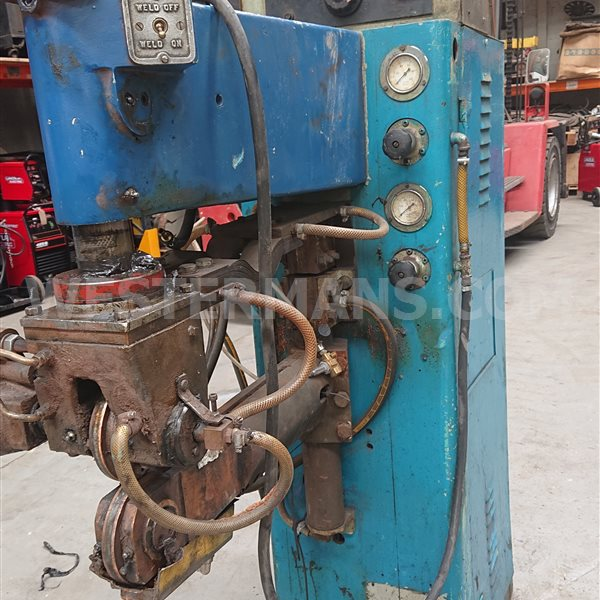 Sciaky Resistance Seam Welder awaiting total rebuild