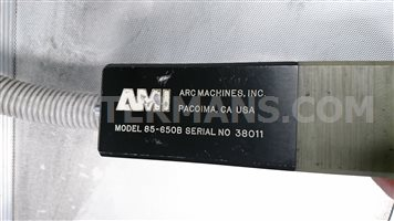 AMI Model 85-650B Fusion return bend weld head