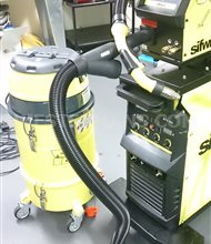 SifWeld MTS400 Industrial MIG Welder - Special Price 3000GBP With fume extraction