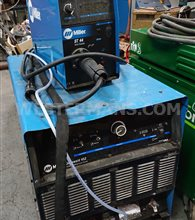 Miller deltaweld 452 with ST44 Wire feed unit