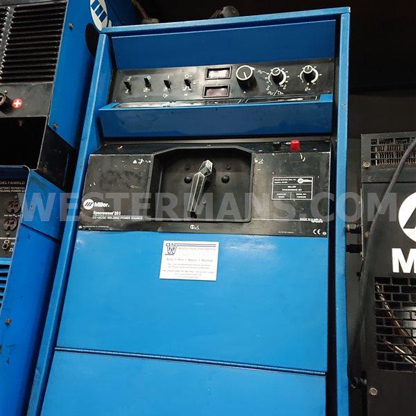 Miller Syncrowave 351 AC DC squarewave TIG welder, water cooled package
