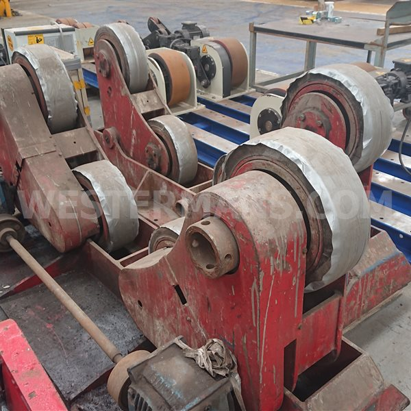 Bode SAR Self Aligning 10 ton Welding Rotators