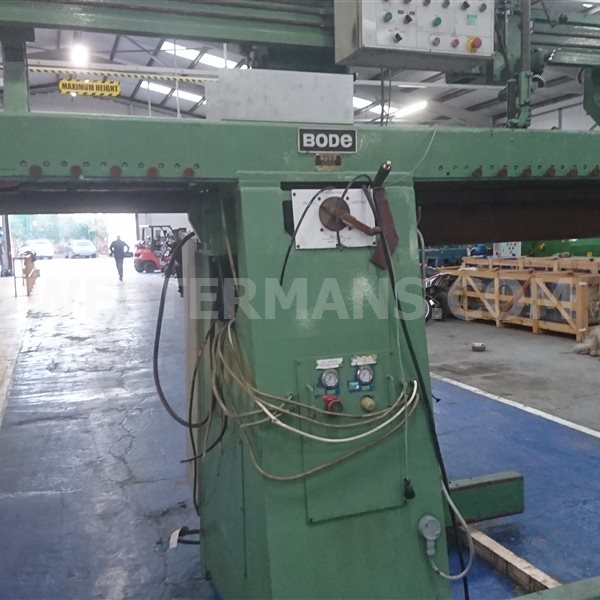 Bode Longitudinal Seam welder