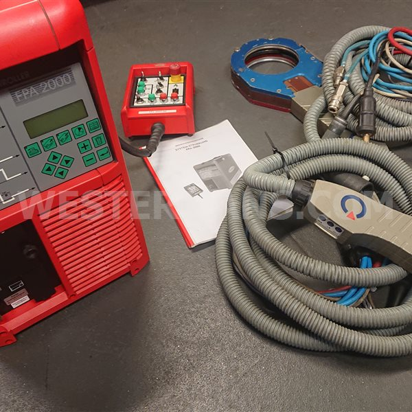 Fronius FPA 2000 Orbital  Welding Power Source with Polysoude closed head
