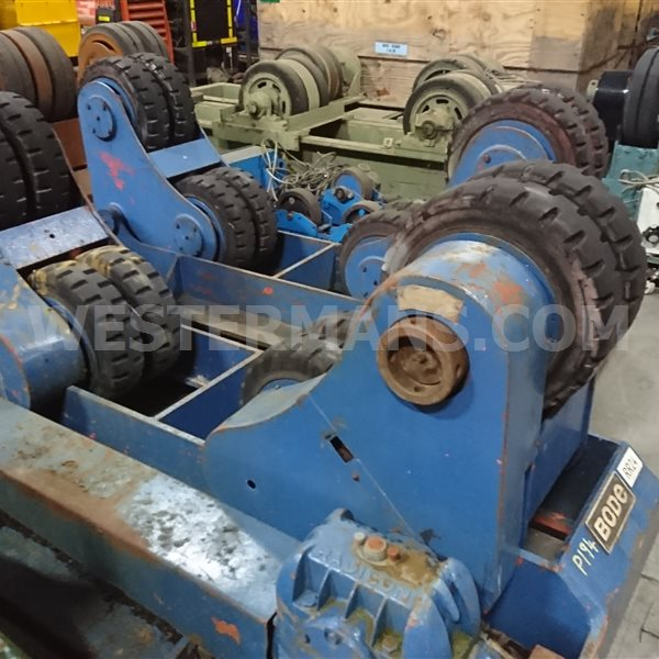 Bode SAR 600 30 ton Rotators 1 powered 1 idler additional idlers if required