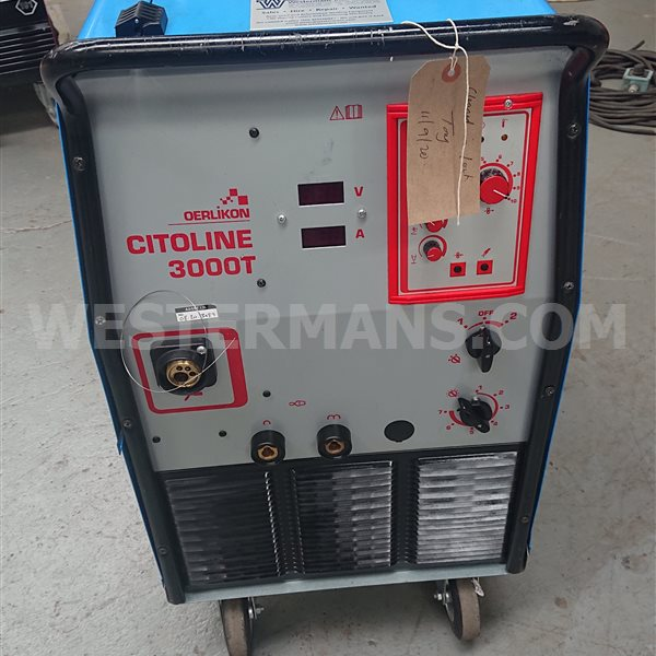 Oerlikon Citoline 3000T Compact MIG Welder