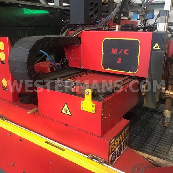 ESPRIT Viper 4000 CNC Plasma and Gas Profile Cutting Machine